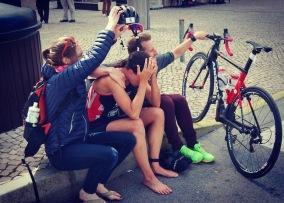 Not all races go to plan. Quateria ETU 2016
