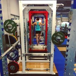 Gym Session at Bisham Abbey